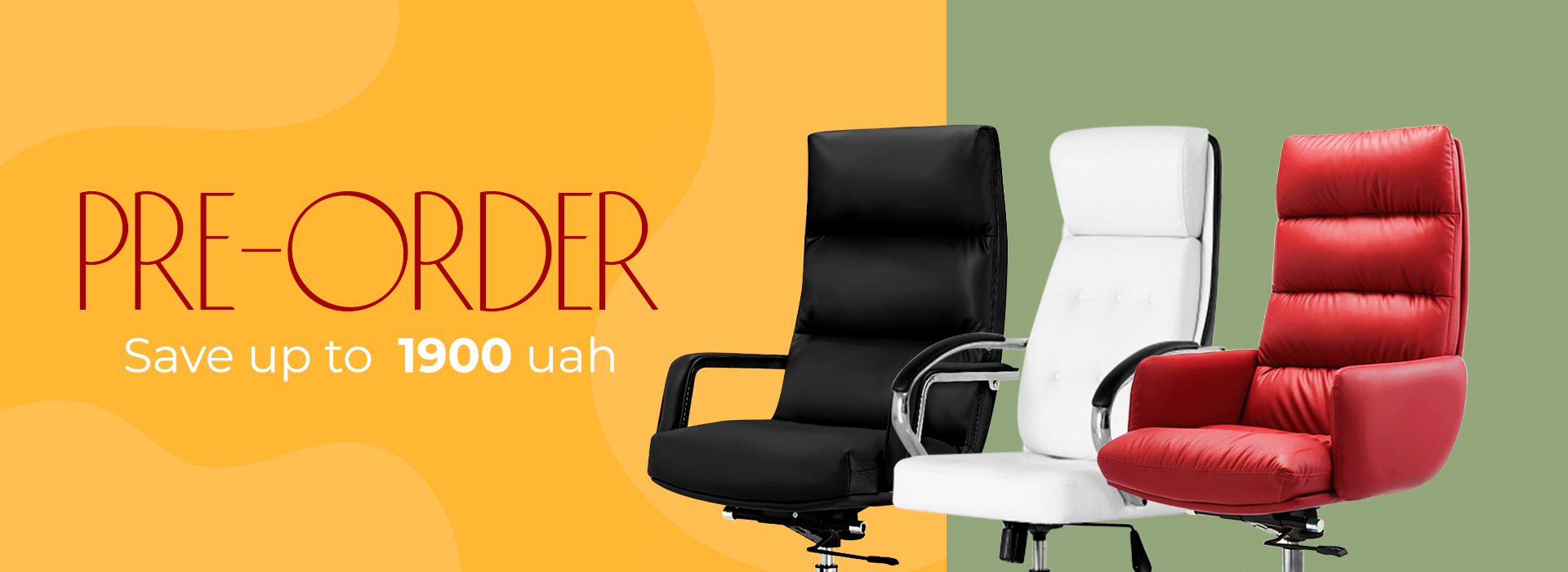 Stock! Big pre-order big discounts on GT Racer chairs!
