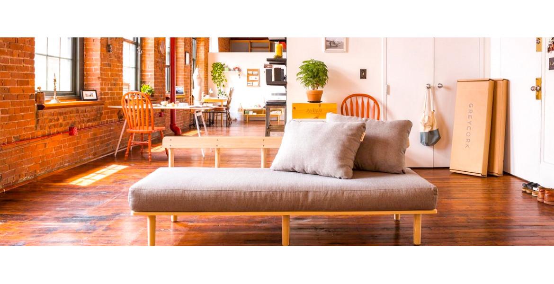 Greycork Living Room Set - суперкомпактний комплект меблів для вітальні