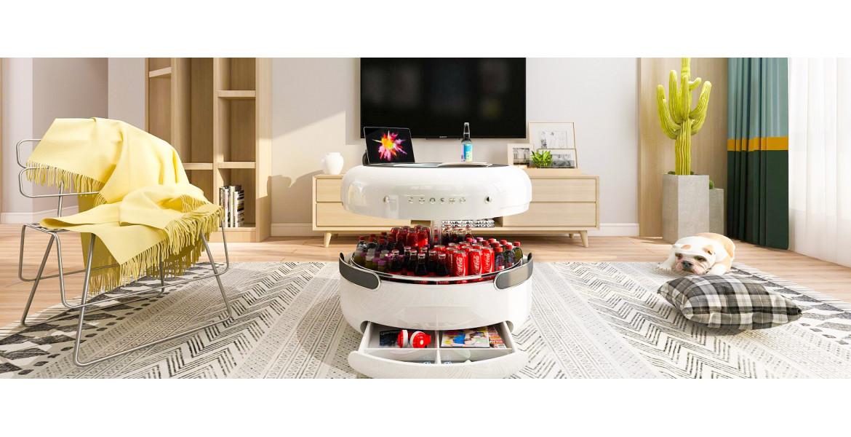 Coosno - журнальний столик з вбудованим холодильником