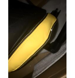 Геймерське крісло GT Racer X-0718 Black/Yellow (уцінка)