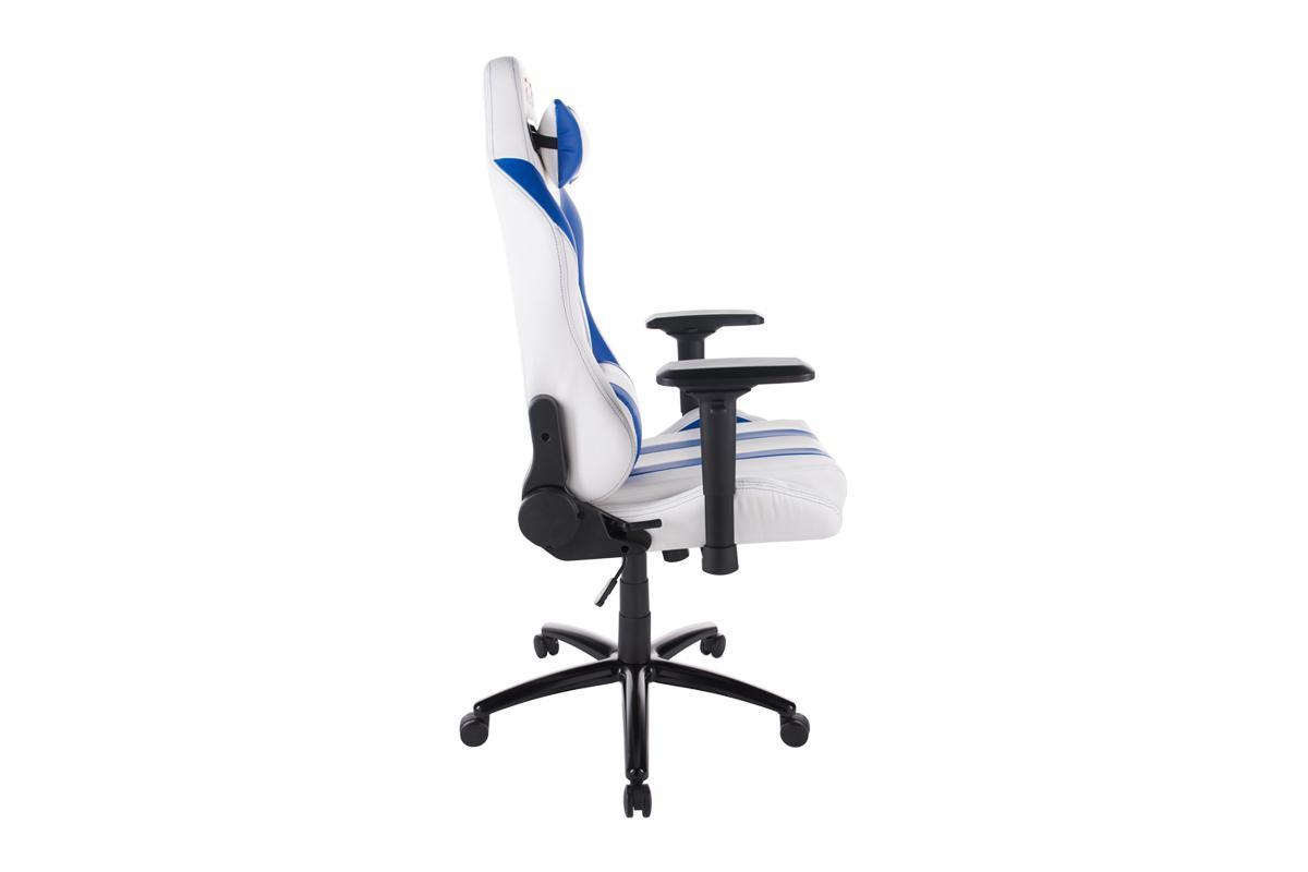 Геймерське крісло GT Racer X-2608 White/Blue