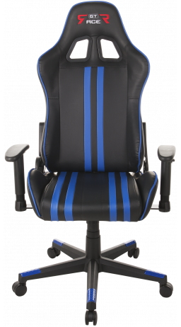 Gaming chair GT Racer X-2504-M (Massage) Black/Blue