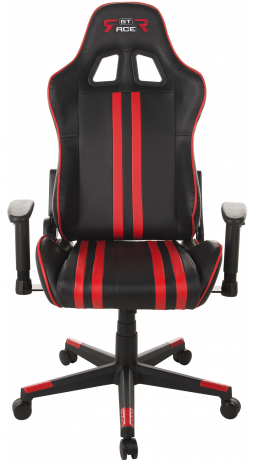 Gaming chair GT Racer X-2504-M (Massage) Black/Red