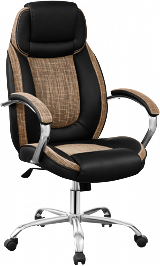 Офісне крісло GT Racer B-1510 Black/Brown