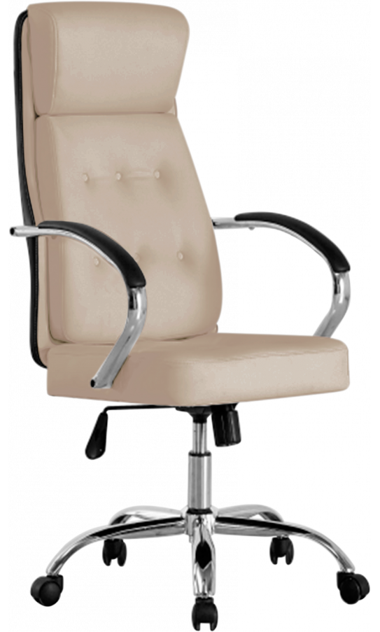 Офісне крісло GT Racer B-2100 Cream