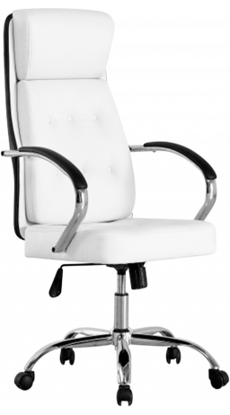 Офісне крісло GT Racer B-2100 White