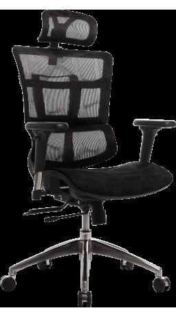 Офісне крісло GT Racer B-237A Black (уцінка)
