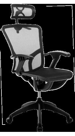 Офисное кресло GT Racer B-262 Black