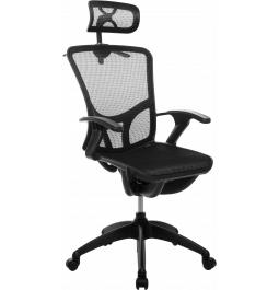 Офісне крісло GT Racer B-262 Black