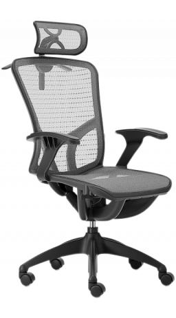 11Офісне крісло GT Racer B-262 Gray