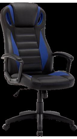 Геймерське крісло GT Racer B-2855 Black/Blue