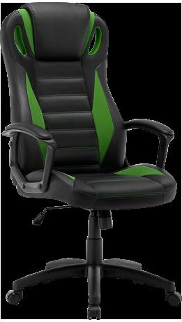 Геймерське крісло GT Racer B-2855 Black/Green