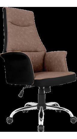 Офісне крісло GT Racer B-4030 Black/Brown