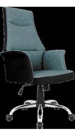 Офісне крісло GT Racer B-4030 Black/Dark Blue