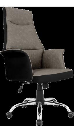 Офісне крісло GT Racer B-4030 Black/Gray