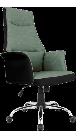 Офисное кресло GT Racer B-4030 Black/Green