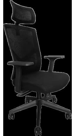 11Офісне крісло GT Racer B-8005A Black