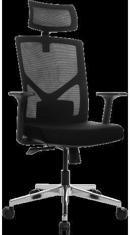Офісне крісло GT Racer B-8005A Black (уцінка)