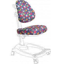 Чехол для кресла GT Racer CVR-1011 blue