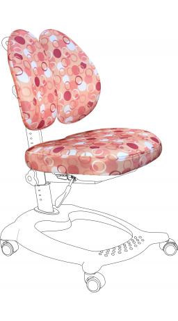11Чохол для крісла GT Racer CVR-1015 pink