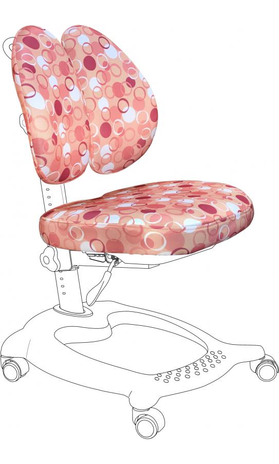 Чехол для кресла GT Racer CVR-1015 pink