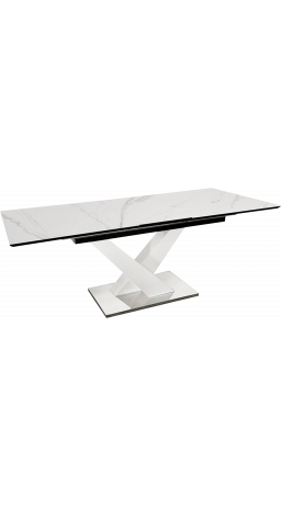 Стіл GT DT-1105 (160-200x90x75) White