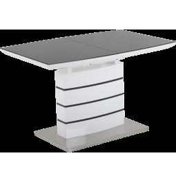 Стіл GT DT8053-2 (140-180*80*76) White/Gray