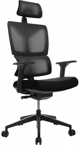 Офісне крісло GT Racer H-2001 Black