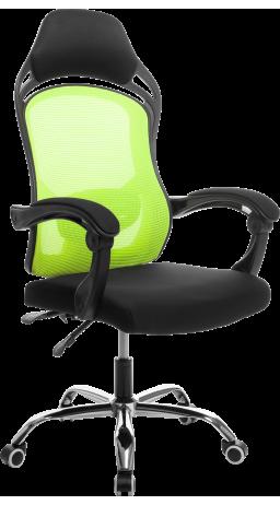 Офисне крісло GT Racer H-2201 Black/Green