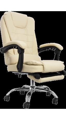 Офісне крісло GT Racer H-2770-F Cream