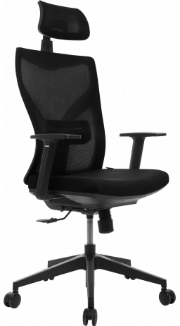 Офісне крісло GT Racer H-3002 Black