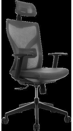 11Офісне крісло GT Racer H-3002 Gray