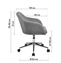 Офісне крісло GT Racer H-6103 Gray