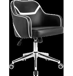 Office chair GT Racer H-8042 Black/White