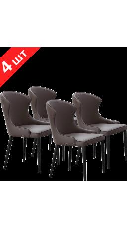 Комплект стільців GT K-1010 Dark Gray (4 шт)