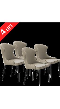 Комплект стільців GT K-1010 Light Gray (4 шт)