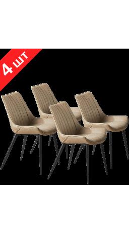 Chairs set GT K-1020 Light Brown (4 psc)