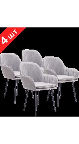Chairs set GT K-1030 Dark Gray (4 psc)
