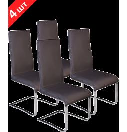 Комплект стільців GT K-1040 Dark Brown (4 шт)