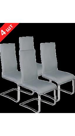 Комплект стільців GT K-1040 Gray (4 шт)
