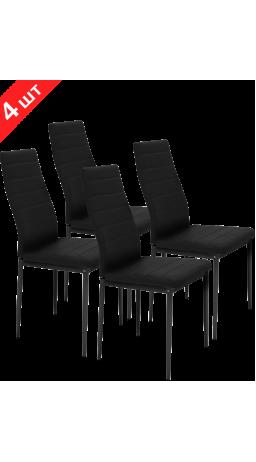 Комплект стільців GT K-2020 Black (4 шт)