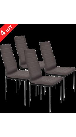 Комплект стільців GT K-2020 Dark Brown (4 шт)