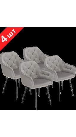 Chairs set GT K-8175 Light Gray (4 psc)