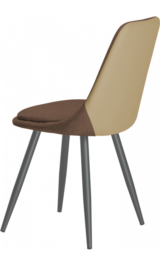 Chairs set GT K-8764 Fabric Brown (4 psc)