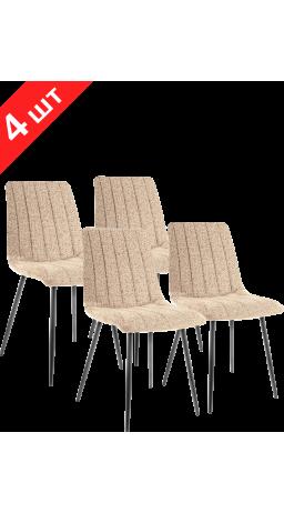 Комплект стільців GT K-2001 Fabric Beige (4 шт)