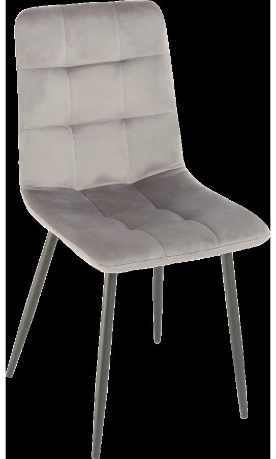 Chair GT K-2001 Gray Velvet