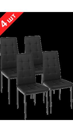 Chairs set GT K-2010 Black (4 psc)