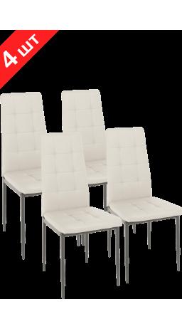Комплект стільців GT K-2010 Cream White (4 шт)
