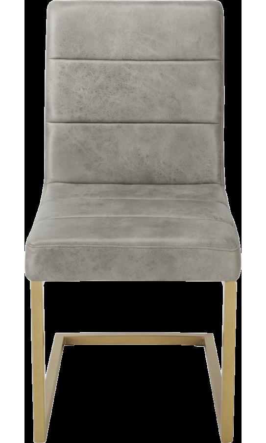 Chair GT KY8776 Gray/Bronzing