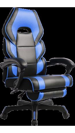 Геймерське крісло GT Racer M-2643 Black/Blue